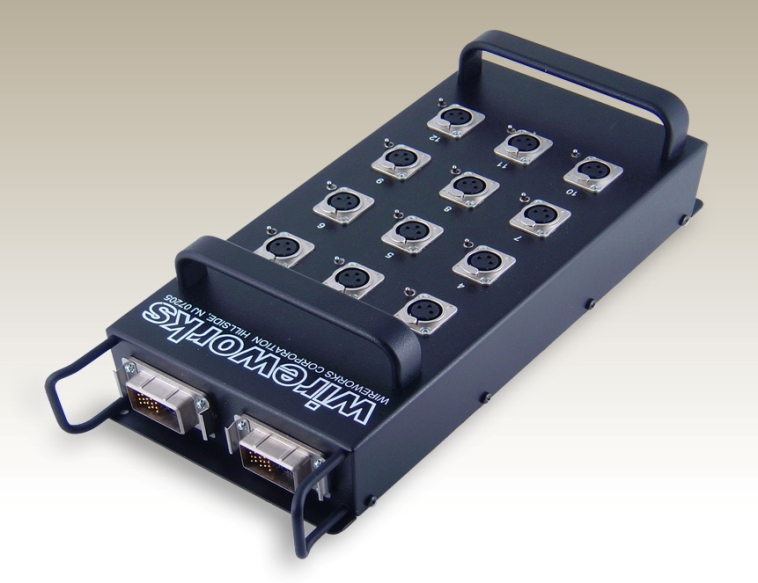 Stagebox XLR Input/Multipin Output